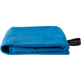 Basic Nature Velour Handtuch 60x120cm blau